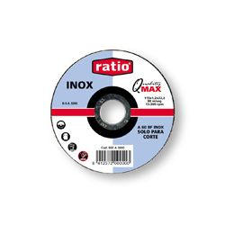 Disco corte Inox/Metal Ø 125 x 1 mm.