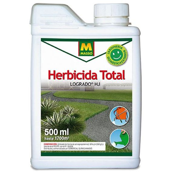 HERBICIDA TOTAL CONSUMO Logrado HJ 500ml