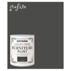PINTURA MUEBLES GRAFITO Rustoleum Chalky Finish 125ml